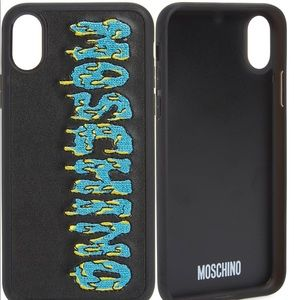 MOSCHINO iPhone X and Xs max case